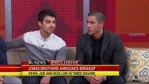Jonas Brothers Breakup Interview 2013  Nick Jonas   We Choose to Be Brothers First