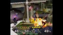 Super Smash Bros. Melee | Team Melee Gameplay | Part 7 | Nintendo GameCube (GCN) | Pokemon Stadium