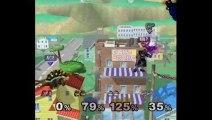 Super Smash Bros. Melee   Melee Gameplay   Match 1   Nintendo GameCube (GCN)   Onett, Fullscreen