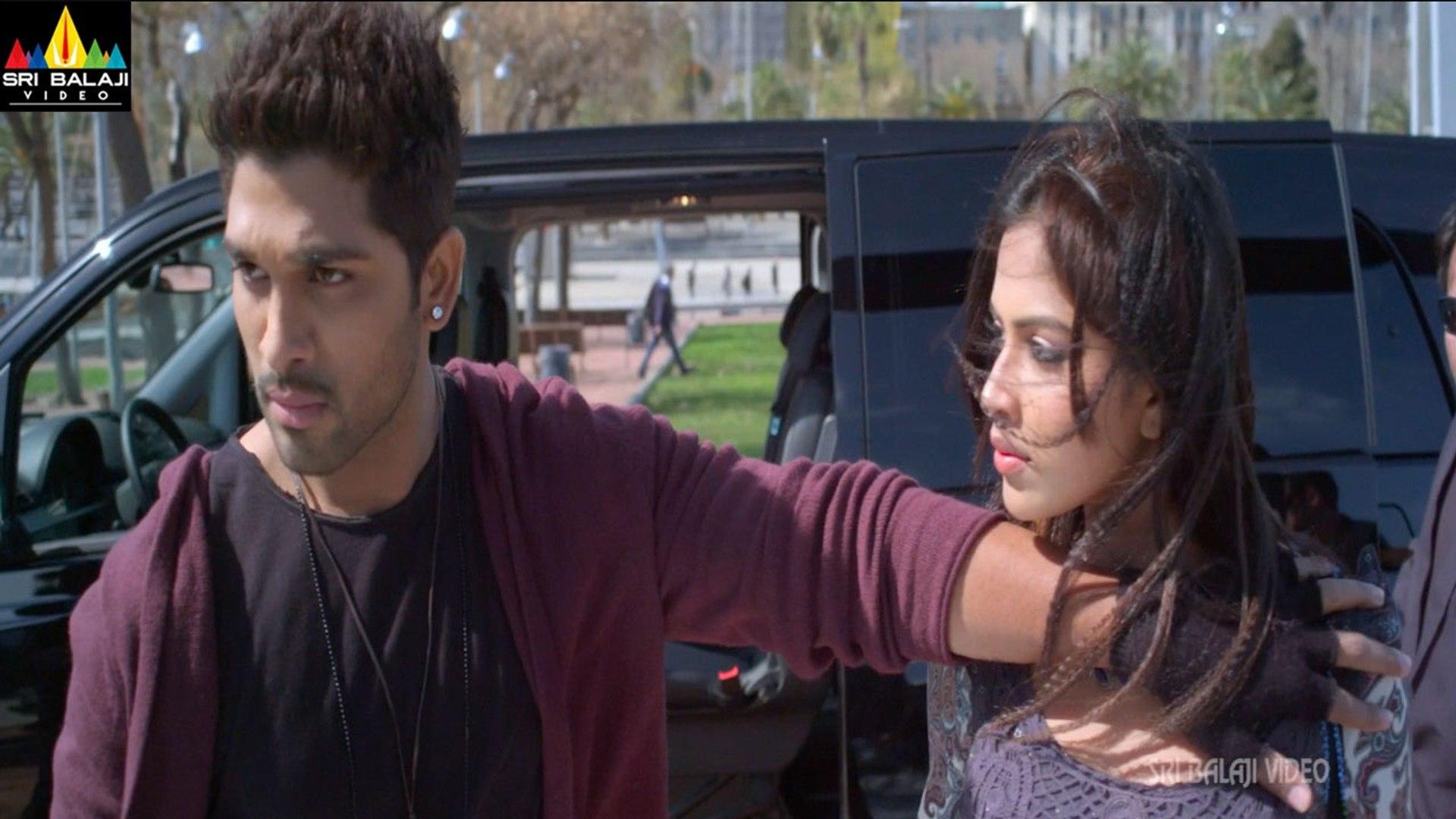 Iddarammayilatho Movie Allu Arjun Action Scene - Allu Arjun, Amala Paul, Catherine