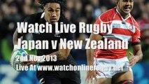 Online Rugby Japan vs All Blacks
