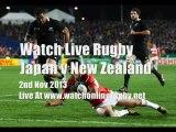 Live Streaming Japan vs All Blacks Rugby
