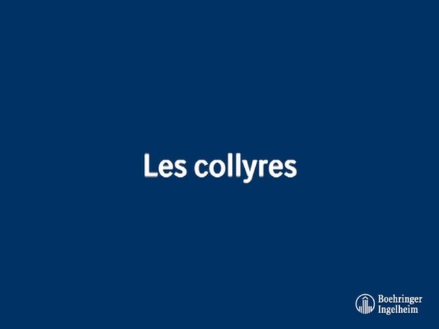 Les collyres