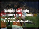 Rugby Japan vs All Blacks Online