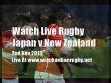 Rugby Online Japan vs All Blacks Live