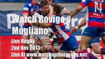 Online Rugby Rovigo vs Mogliano