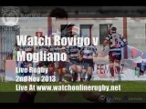 Watch Here Live Rovigo vs Mogliano Rugby