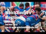Rugby Match Rovigo vs Mogliano