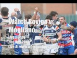 Rovigo vs Mogliano Rugby