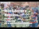 Watch Rovigo vs Mogliano 2nd Nov