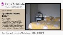 3 Bedroom Triplex for rent - Jardin du Luxembourg, Paris - Ref. 6548