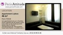 Appartement 1 Chambre à louer - Gare de l'Est/Gare du Nord, Paris - Ref. 4809