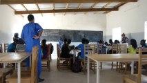 Cours de Géographie avec les 6è B du collège de Mbodiène, 31 octobre 2013