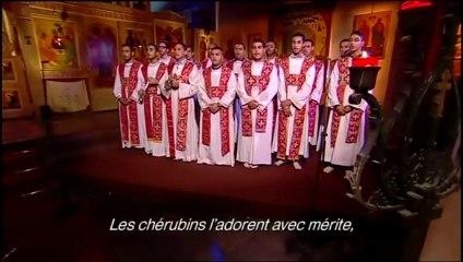 """""""Les Orientaux chantent la mère de Dieu"""" : Partie sur le Chœur de diacres de Paris - Via France 2 le 01/11/2013"""