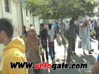 """Des membres des frères musulmans vandalisent une église à Zeitoun au Caire """"Islamiya, Islamiya' sur les murs"""