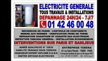 24H/24 ELECTRICIEN PARIS 16eme - 0142460048 - DEPANNAGE ELECTRICITE IMMEDIAT 75016