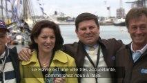 La délégation Brésilienne au Havre - Transat Jacques Vabre 2013