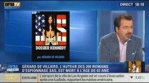 BFM Story: le décès de Gérard de Villiers, l'auteur des 200 romans d'espionnage SAS - 01/11