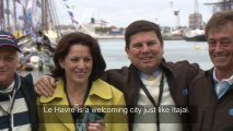 ENG - The Brazilians are in Le Havre - Transat Jacques Vabre 2013