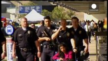 Lone gunman kills security agent at Los Angeles airport