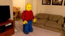 Best Halloween Costume : Homemade Lego Guy Costume