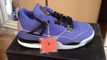 * lunettesshopfr.cn * Top Nike Jordan 4 Chaussures Hommes en Bleu et noir