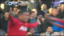 Fulham  0 - 2 Manchester United (Robin van Persie Goal)