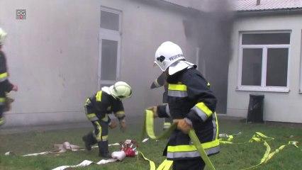 Wieder Brandstiftung in Hainburg - Feuer im Jugendheim