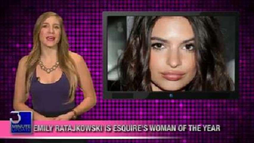 Esquire's Woman of the Year: Emily Ratajkowski!