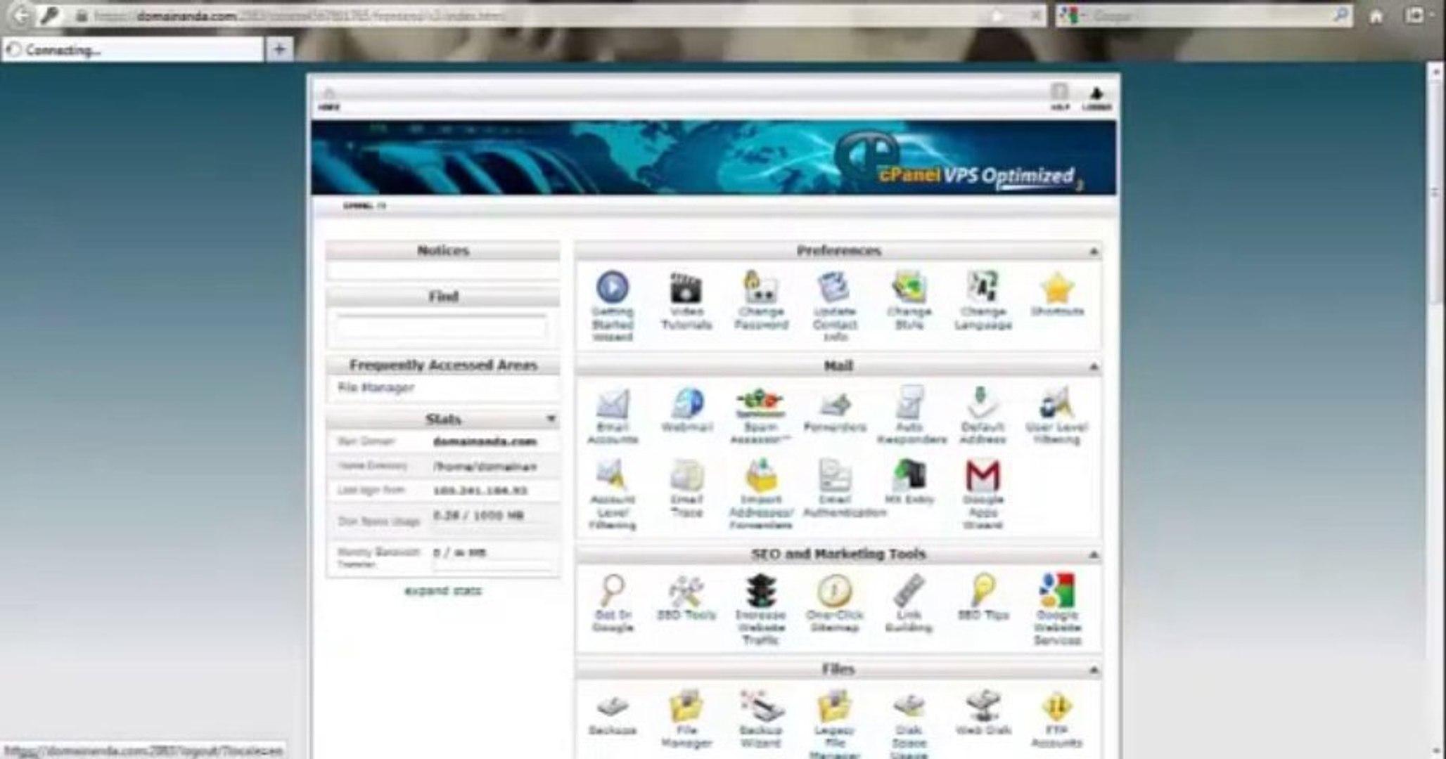 Cara Login ke cPanel Hosting By riauhost.net