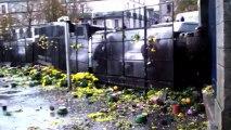 Quimper (France) 02/1/2013 Violents affrontements