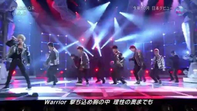 131030 B.A.P - Warrior (Japanese Ver) at NHK Music Japan