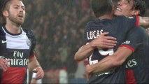 But Edinson CAVANI (43ème) - Paris Saint-Germain - FC Lorient (4-0) - 2013/2014