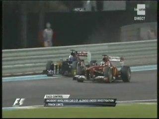 Alonso sort des stands en trombe