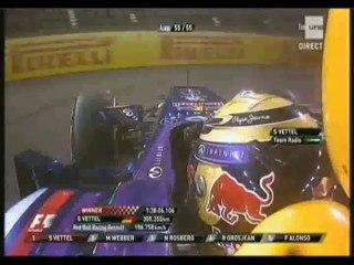 Nouvelle victoire de Vettel