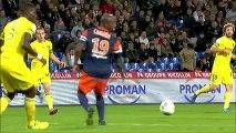 But Djamel BAKAR (90ème) - Montpellier Hérault SC - FC Nantes (1-1) - 2013/2014