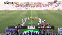 Liga Adelante  Jaén 1  Mirandés 2