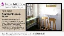 Studio Apartment for rent - Boulogne Billancourt, Boulogne Billancourt - Ref. 5793