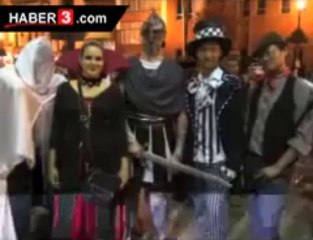 Cheery Halloween celebrated U.S capital with colorful activities