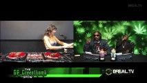 "Snoop Dogg, Daz Dillinger & DJ Shiva ""Gangsta on tha Green"" Freestyle @ ""The Dr Greenthumb Show"", B-Real TV, 11-04-2013 Pt.1"