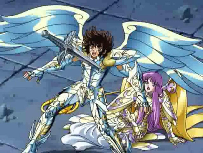 Los Caballeros del Zodiaco -Episodio Final Hades - La Muerte de Seiya