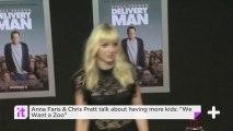 "Anna Faris & Chris Pratt Talk About Having More Kids: ""We Want A Zoo"""