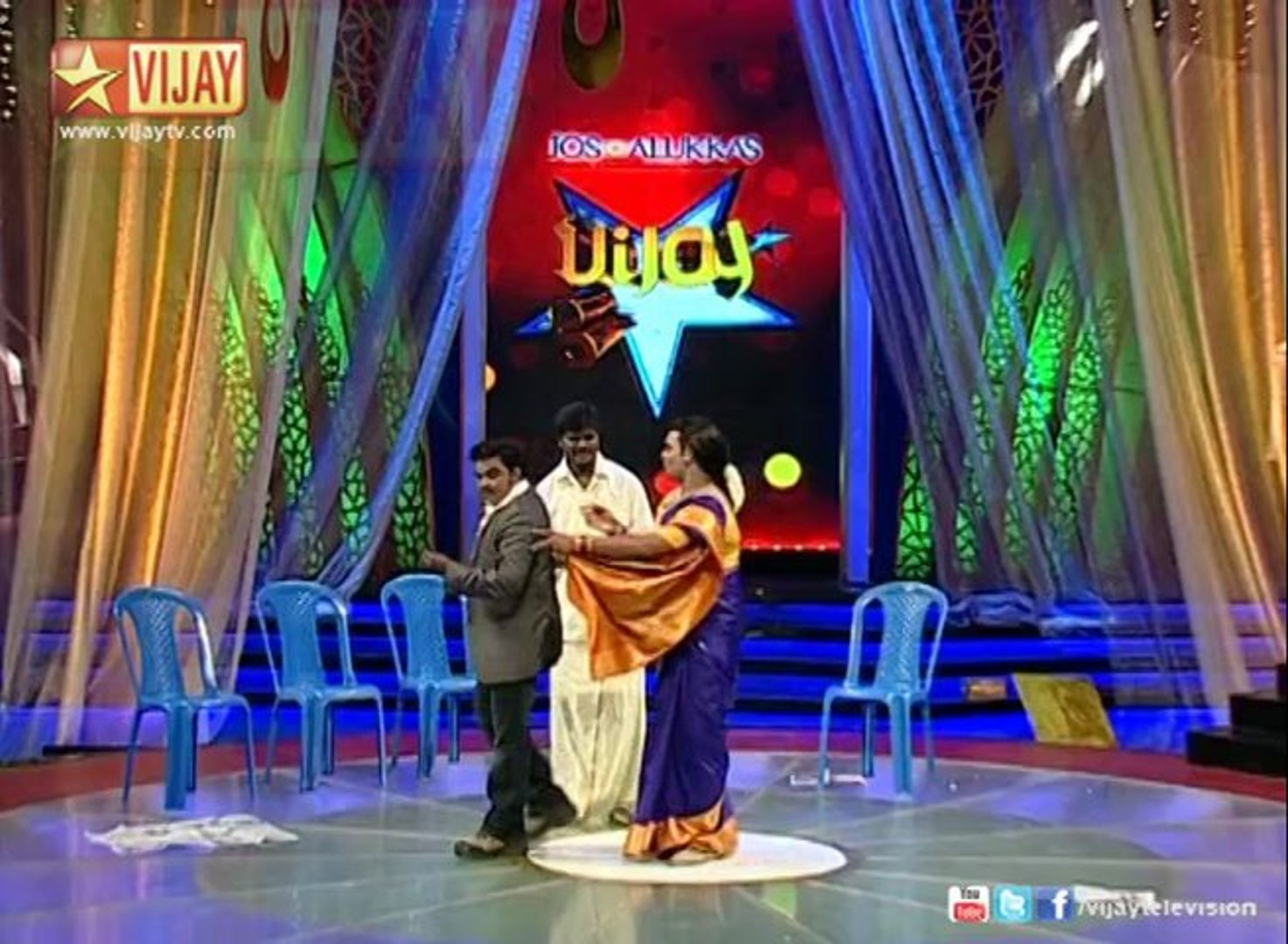 Siricha Pochi in Vijay Stars