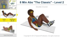 8 Min Abs Workout - Level 2