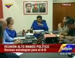 (Video) Presidente Maduro sostuvo encuentro con Alto Mando Político