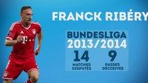 Franck Ribéry, le serial passeur du Bayern Munich