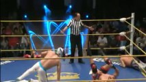Namajague & Shigeo Okumura (c) vs Delta & Guerrero Maya Jr. (CMLL)