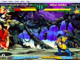 Marvel Super Heroes vs. Street Fighter Matches 1-14