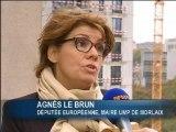 Tilly-Sabco: La maire de Morlaix, Agnès Lebrun, dénonce les aides européennes importantes touchées par le PDG - 05/11