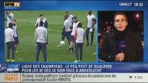 "BFM Story: Ligue des champions: PSG vs Anderlecht, ""Objectif Qualif"" - 05/11"